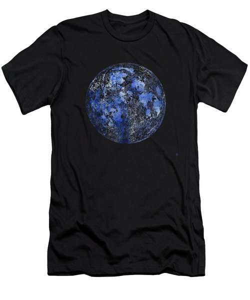 Moon Map Men's T-Shirt (Athletic Fit)