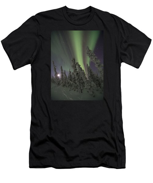 Moon On The Hill Men's T-Shirt (Athletic Fit)