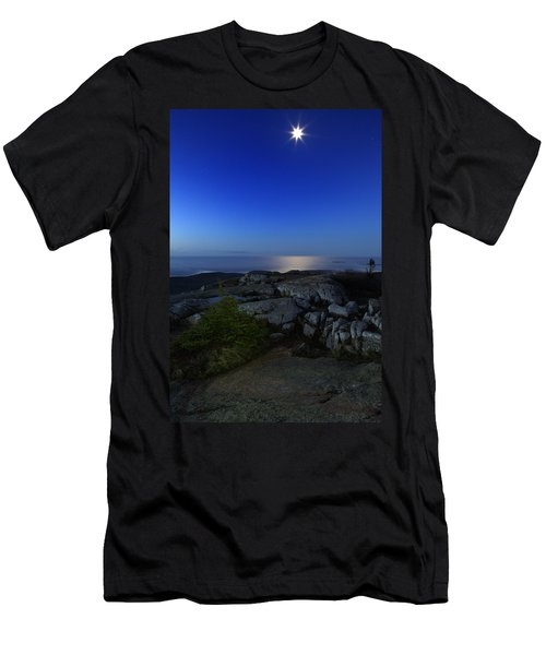 Moon Over Cadillac Men's T-Shirt (Athletic Fit)