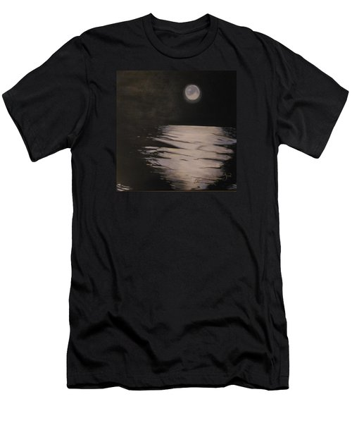 Moon Over The Wedge Men's T-Shirt (Athletic Fit)
