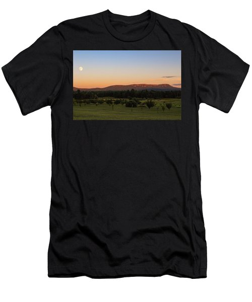Moon Over Mount Tom Men's T-Shirt (Athletic Fit)