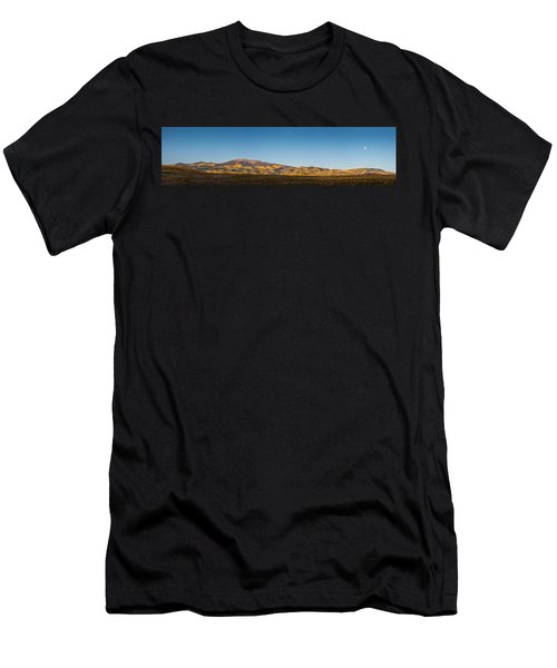 Moon Over Pintada Mountain At Sunrise In The San Juan Mountains, Men's T-Shirt (Athletic Fit)