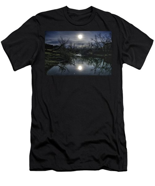 Moon Over Sand Creek Men's T-Shirt (Athletic Fit)