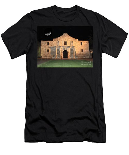 Moon Over The Alamo Men's T-Shirt (Athletic Fit)