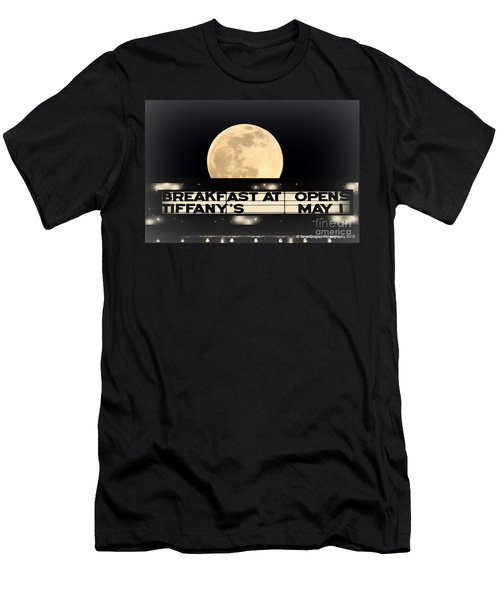 Moon Over Tiffany's Men's T-Shirt (Athletic Fit)