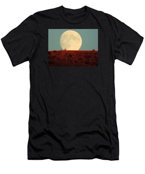Moon Over Utah Men's T-Shirt (Athletic Fit)