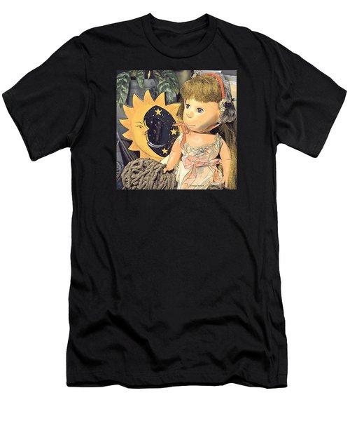 Moon Pearl Men's T-Shirt (Athletic Fit)