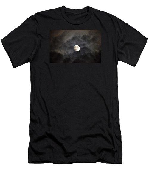 Moon Rise Men's T-Shirt (Athletic Fit)