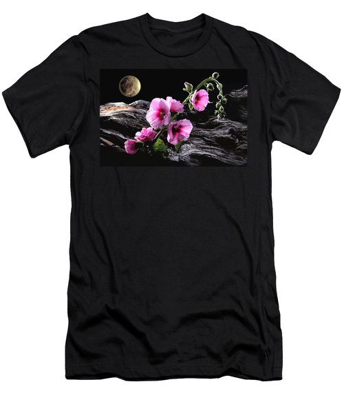 Moon Scape Men's T-Shirt (Athletic Fit)