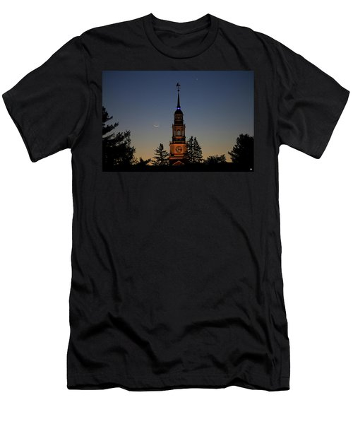 Moon, Venus, And Miller Tower Men's T-Shirt (Athletic Fit)