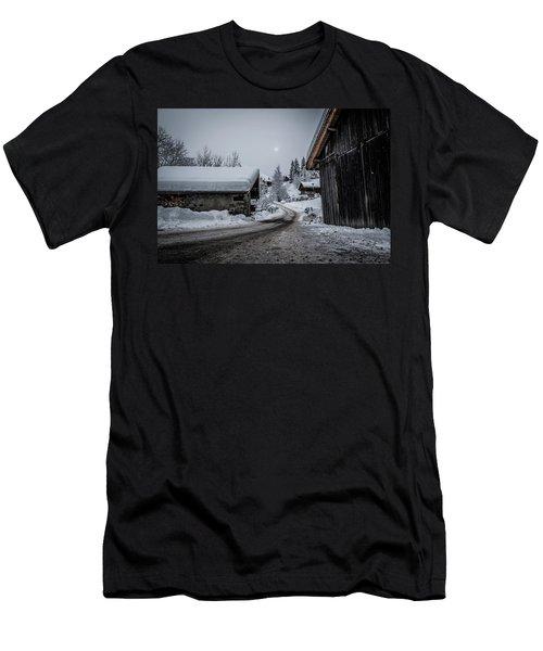 Moon Walk- Men's T-Shirt (Athletic Fit)