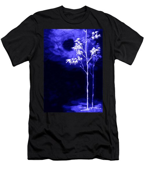 Moonlight Bamboo Men's T-Shirt (Slim Fit) by Lanjee Chee