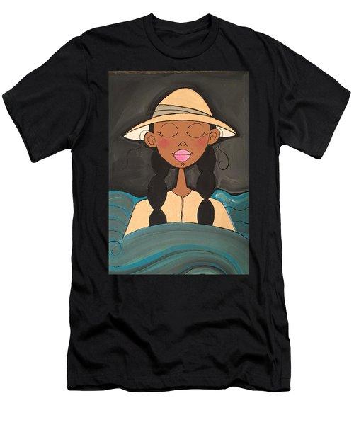 Moonlight Baptismal  Men's T-Shirt (Athletic Fit)