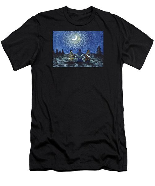 Moonlight Counsel Men's T-Shirt (Athletic Fit)