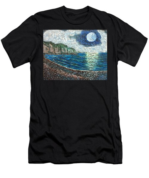 Moonlight In Pourvill Men's T-Shirt (Athletic Fit)