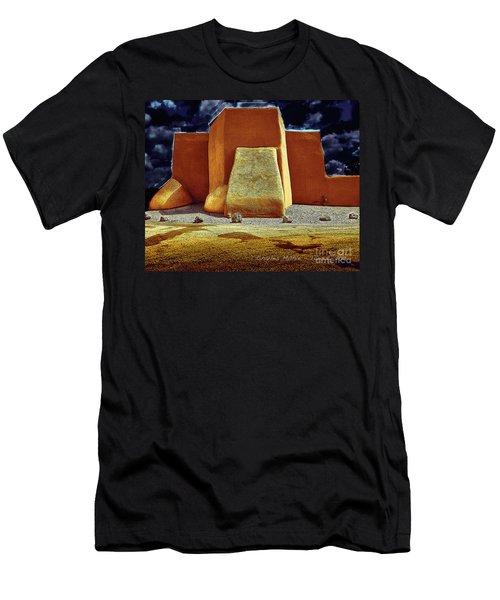 Moonlight In Ranchos Men's T-Shirt (Athletic Fit)