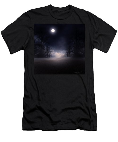 Moonlight Journey Men's T-Shirt (Athletic Fit)