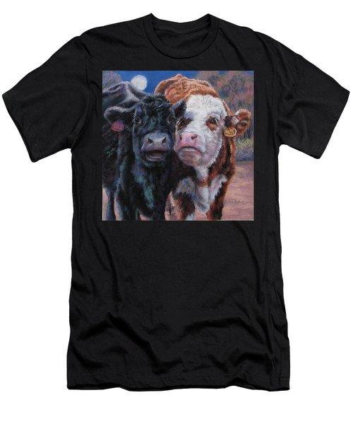 Moonlight Mooraoke Men's T-Shirt (Athletic Fit)