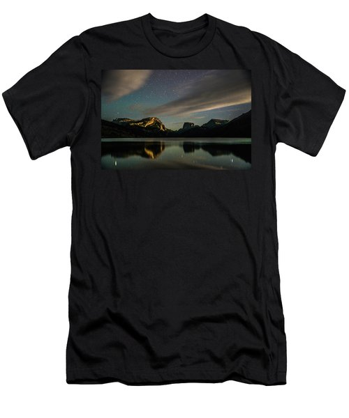 Moonlight On Green River Lake Men's T-Shirt (Athletic Fit)