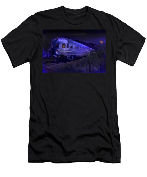 Moonlight On The Sante Fe Chief Men's T-Shirt (Athletic Fit)