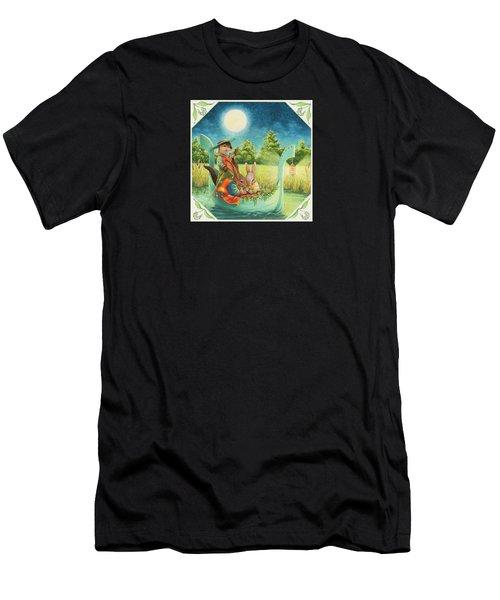 Moonlight Romance Men's T-Shirt (Athletic Fit)