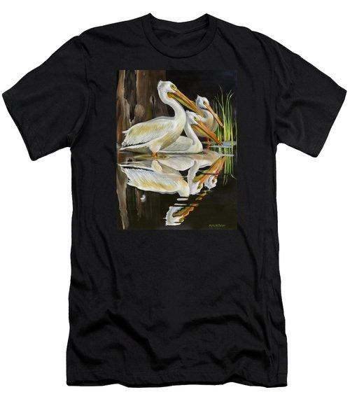 Moonlight Serenade Men's T-Shirt (Slim Fit) by Phyllis Beiser