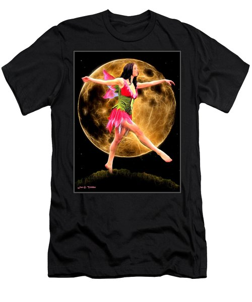 Moonlight Stroll Of A Fairy Men's T-Shirt (Athletic Fit)