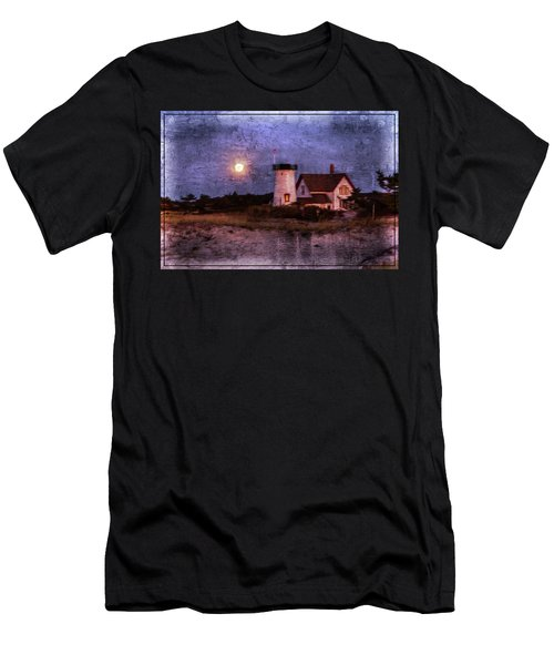 Moonlit Harbor Men's T-Shirt (Slim Fit)