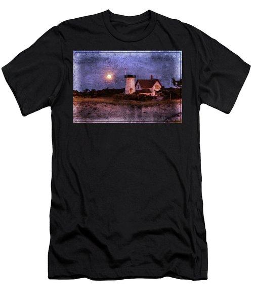 Moonlit Harbor Men's T-Shirt (Athletic Fit)