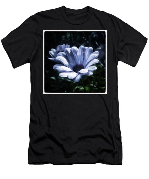 Men's T-Shirt (Athletic Fit) featuring the photograph Moonlit Petals. From The Beautiful by Mr Photojimsf