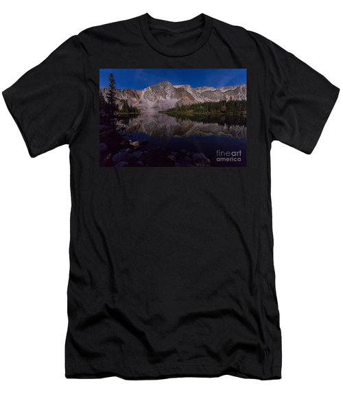 Moonlit Reflections  Men's T-Shirt (Athletic Fit)