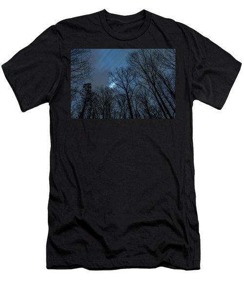 Moonlit Sky Men's T-Shirt (Athletic Fit)