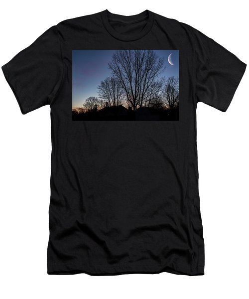 Moonlit Sunrise Men's T-Shirt (Athletic Fit)