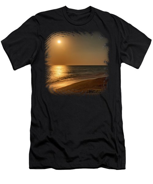 Moonscape 3 Men's T-Shirt (Athletic Fit)
