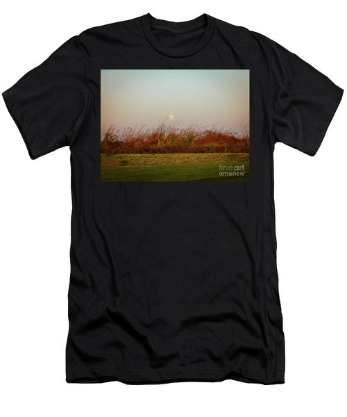 Moonscape Evening Shades Men's T-Shirt (Athletic Fit)