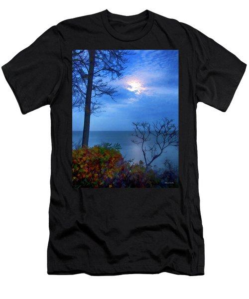 Moonset 1 Men's T-Shirt (Athletic Fit)