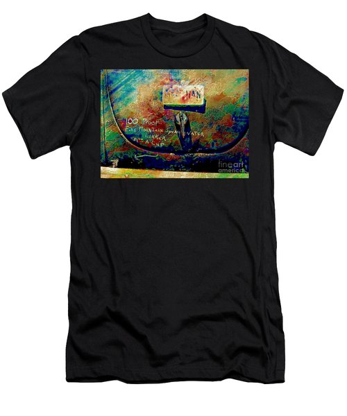 Moonshine In My Trunk Men's T-Shirt (Athletic Fit)