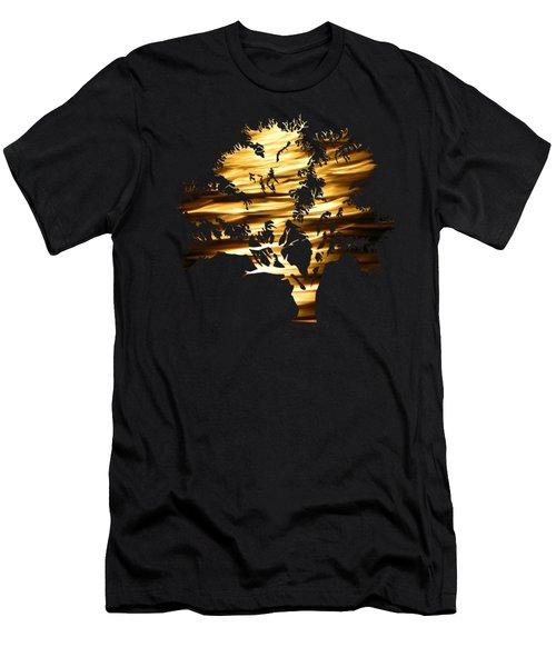 Moonshine Tree Men's T-Shirt (Athletic Fit)