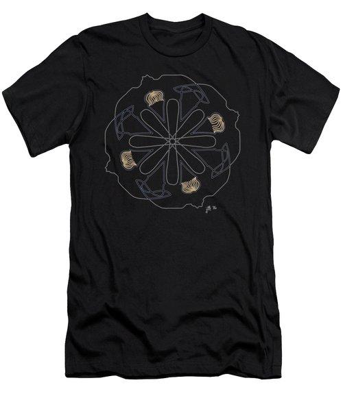 Mop Top - Dark T-shirt Men's T-Shirt (Slim Fit) by Lori Kingston