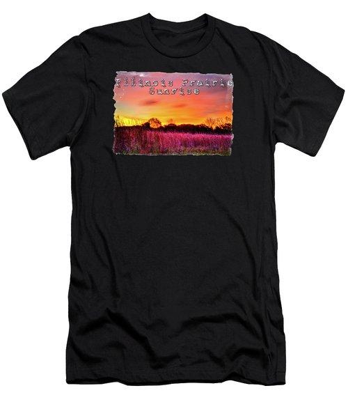 Moraine Hills At Sunrise Men's T-Shirt (Athletic Fit)