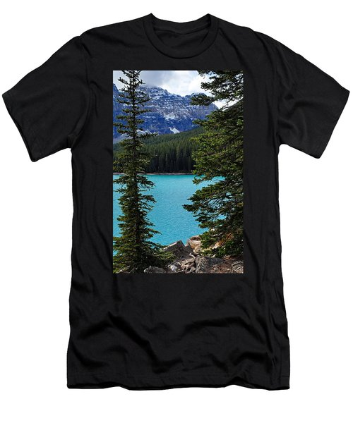 Moraine Lake 3 Men's T-Shirt (Athletic Fit)