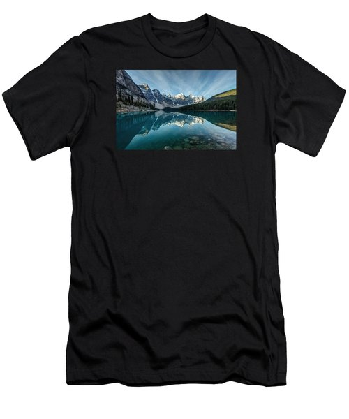 Moraine Lake Reflection Men's T-Shirt (Athletic Fit)