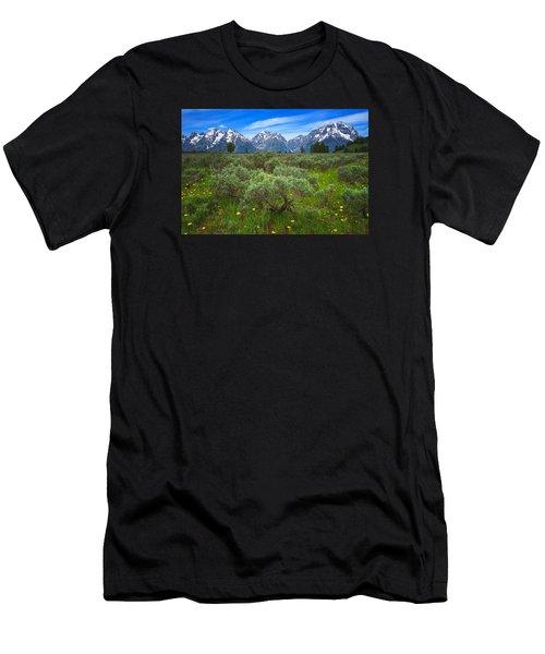 Moran Meadows Men's T-Shirt (Athletic Fit)