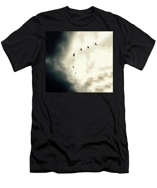 Big Sky Crows Men's T-Shirt (Athletic Fit)