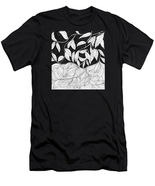 More Leaves Men's T-Shirt (Slim Fit) by Lou Belcher