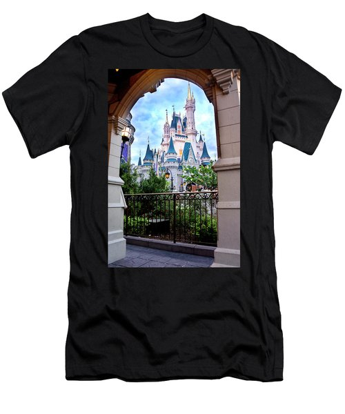 Men's T-Shirt (Slim Fit) featuring the photograph More Magic by Greg Fortier