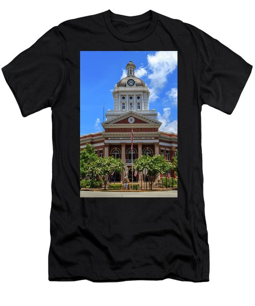 Morgan County Court House Men's T-Shirt (Athletic Fit)