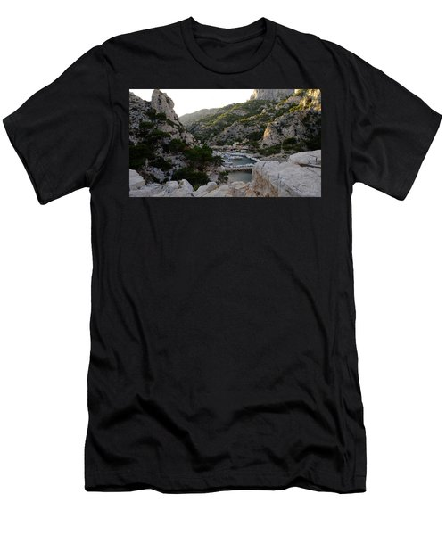 Men's T-Shirt (Athletic Fit) featuring the photograph Morgiou Village by August Timmermans