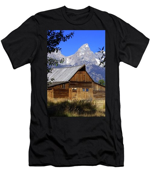 Mormon Row Barn  1 Men's T-Shirt (Athletic Fit)