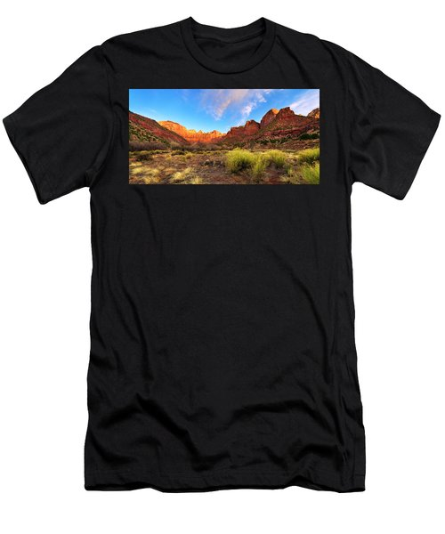 Morning Above Virgin Men's T-Shirt (Athletic Fit)
